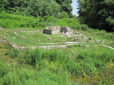 Heiligtum des Zeus Hypsistos. Foto: KW.