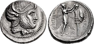 Seleukos I Nikator, 312-281. Tetradrachm, Susa mint, 300-295. From sale CNG 109 (2018), 202.