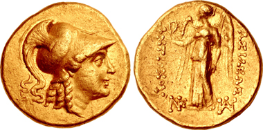 Antiochos II. Theos, 261-246. Stater, Tarsos, ca. 261-253. Aus Sammlung Arthur Houghton. Aus Auktion CNG 109 (2018), 231.