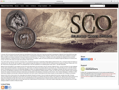 Seleucid Coins Online - a useful tool for collectors and scholars provided by the ANS.