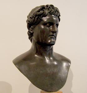 Portrait of Seleukos I. Archaeological Museum Naples. Photo: KW.