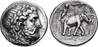 Seleukos I Nikator. Tetradrachm, Susa mint, 295-281. From sale CNG 109 (2018), 205.