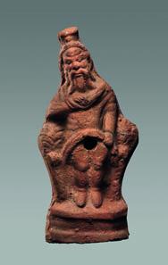 Priapos-Terrakotte, 2. Jh. n. Chr. Tüb. Inv. 4971. Foto: Thomas Zachmann, Universität Tübingen.