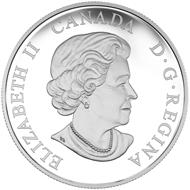 Canada / 20 dollars / silver .9999 / 31.39 g / 38 mm / Design: Yves Bérubé / Mintage: 6,000.