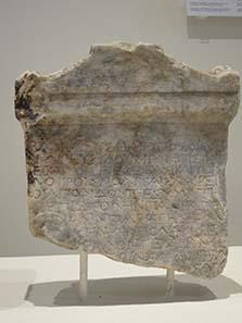 Brief Philipps V. an die Bürger und Offiziere von Dion. Foto: KW.