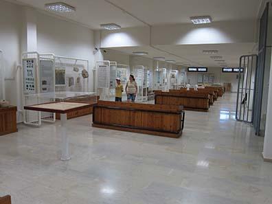 Die museumspädagogische Abteilung des Museums von Dion. Foto: KW.