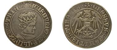 Pfundner Sigmund von Tirol o.J. Foto: Geldmuseum OeNB.