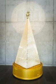 Ein Weihnachtsbaum aus Wiener Philharmonikern.