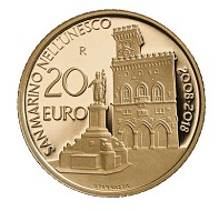 San Marino / 20 Euro / Gold .900 / 6,451 g / 21 mm / Design: Antonella Napolione (Avers) und Uliana Pernazza (Revers) / Auflage: 500.