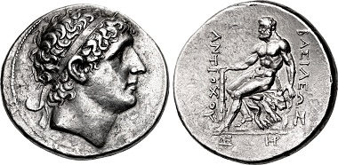 Antiochos I Soter. Tetradrachm, Magnesia ad Sipylum mint. From sale CNG 109 (2018), 215.