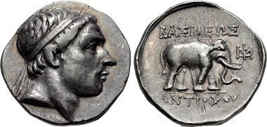 "Antiochos III ""the Great"". Drachm, Apamea on the Orontes mint, 223-211. From sale Triton XVIII (2015), 151."