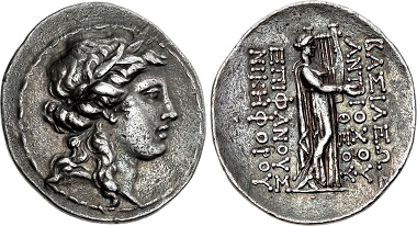 Antiochos IV Epiphanes. Tetradrachm, Antioch on the Orones, ca. 166. From sale Triton XIX (2016), 290.