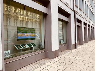 Gerhard Hirsch Nachfolger in München: Deutschlands älteste Münzhandlung, die sich noch in Familienbesitz befindet.