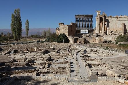 Blick über das restaurierte Areal Bustan Nassif. Foto: Alia Haju, Deutsche Botschaft Beirut.