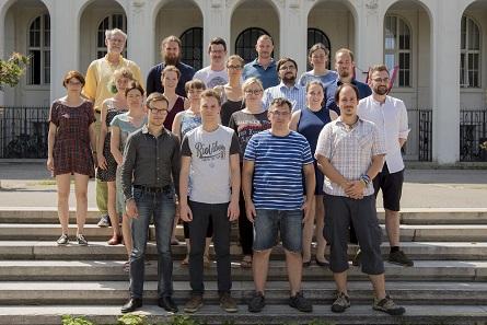 Die Teilnehmer und Organisatoren des Sommerseminars 2018 des Instituts für Numismatik und Geldgeschichte der Universität Wien.
