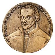 500. Geburtstag von Philipp Melanchthon. Quelle: Münzkabinett der Staatlichen Museen zu Berlin, [18229787].