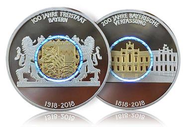Die Medaille erscheint in .999 Silber und einer Auflage von 1.000 Stück.