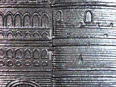 Detail Holstentor mit zusätzlichen Linien. Schätzung 50 Euro. Foto: © Angela Graff.
