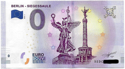 """Schein Berlin mit """"Siegessaule"""" statt"""