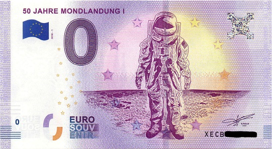 50 Jahre Mondlandung 2018.