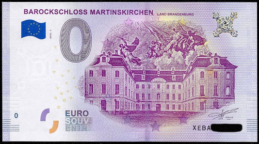 Schloss Martinskirchen, Land Brandenburg. Foto: numiscontrol.
