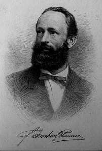 Friedrich Imhoof-Blumer (1838-1920), bedeutender Sammler und Numismatiker. Foto: Staatliche Museen zu Berlin, Münzkabinett.