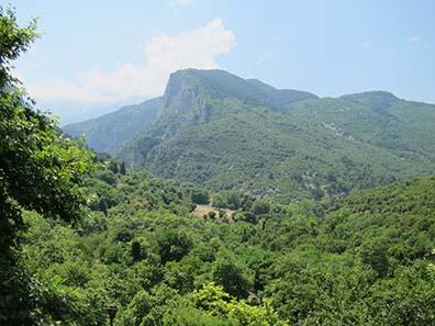 On Mount Olympus. Photograph: KW.