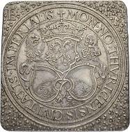 Zürich. Talerklippe 1559 im 1 1/4-fachen Gewicht.