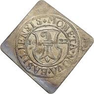 Basel Stadt. Halbdicken-Klippe 1622. 1 1/2-faches Gewicht. (Ex Slg. Brand, Sotheby's 1985, Nr. 179).