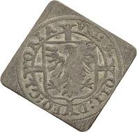 St. Gallen Stadt. Batzenklippe 1622 im Normgewicht (1-faches Gew.).