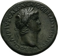 Bidders will find coins such as this sestertius of Nero during the Emporium Hamburg Auction.