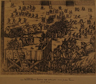 Hinrichtung des Grafen Ferdinand von Hardegg.