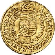 Matthias als Kaiser. Dukat 1612, Wien. Aus Auktion Künker 316 (31. Januar 2019), Nr. 618. Taxe: 2.000,- Euro.