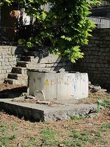 Hypereian Source of Pindar. Photograph: KW.