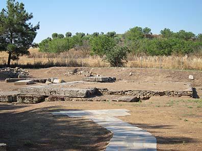 Temple of Zeus Thaulios. Photograph: KW.