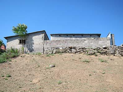 Ein Stück einer Stadtmauer. Foto: KW.