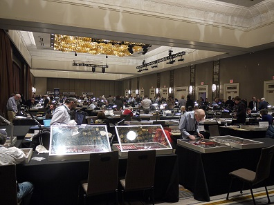 "The great ""Ballroom"" at the Grand Hyatt in Manhattan buzzed with excitement before the convention began. Photo: Björn Schöpe."
