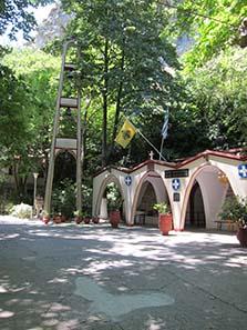 Sanctuary of Saint Paraskevi. Photograph: KW.)