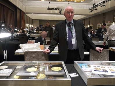 Peter Preston-Morley represented the UK-based auction house Dix Noonan Webb. Photo: Björn Schöpe.
