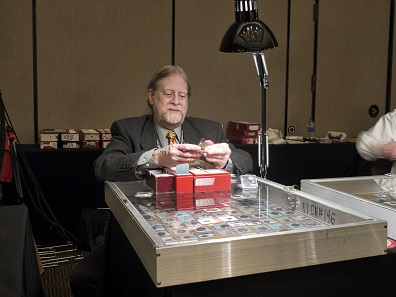 Renowned and esteemed: coin dealer Allen G. Berman, better known as Alanus I – part-time King of Bermania. Photo: Björn Schöpe.
