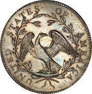 With the lot number 13094, the 1794 Flowing Hair Silver Dollar was sold on 24 January, 2013, for over 10 million US dollars.