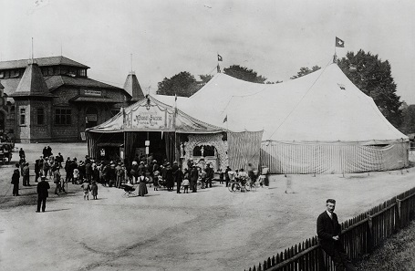 The opening show of Circus Knie on June 4, 1919. © Circus Knie.