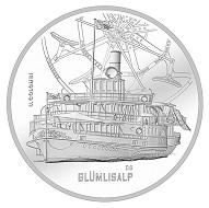 Schweiz / 20 CHF / .835 Silber / 20 g / 33 mm / Design: Ueli Colombi, Merligen / Auflage: 20.000 (unzirkuliert), 5.000 (Polierte Platte).