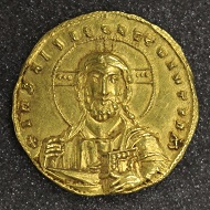 Nicephorus II, histamenon nomisma, 963-969, gold, Constantinople. Photo: The Hunterian.