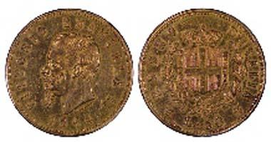 1864-TBN 50 Liras.