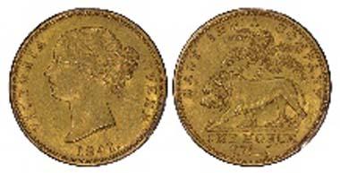 1841 Mohur.