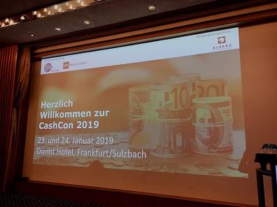 GS1 Germany und das EHI Retail Institute luden zur CashCon 2019 in Frankfurt / Sulzbach ein. Foto: LS.