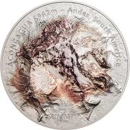 Cook Islands / 25 dollars / Silver .999 / 5 oz. / 65 mm / Mintage: 777.