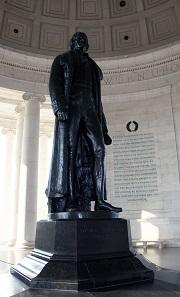The Thomas Jefferson Memorial Statue. Photo: Sampsonsimpson20 / CC BY-SA 3.0.