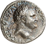 Vespasian. Denarius, 72/73, Antioch. Very fine / Extremely fine. Estimate: 250.- euros. From Künker auction 318 (11-12 March, 2019), No. 1097.